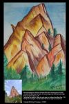 Garden Of The Gods Watercolor 1 by stourangeau