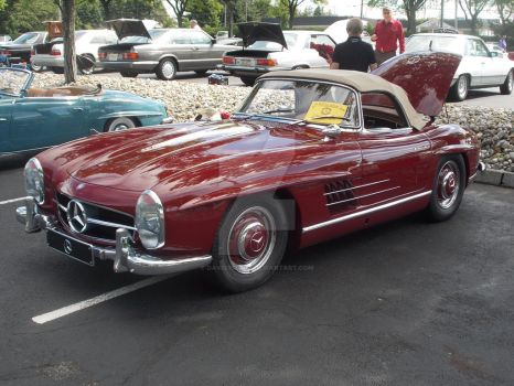 1950s Mercedes 300SL by David3State
