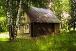house in the village Russia by cyxen