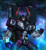 Armada Megatron ColoredVersion by Kirdein