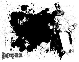 d gray man wall-contraste by shidorry
