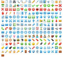 24x24 Free Application Icons by Ikonod