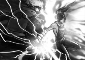 Lightning Edge vs Flash Cry by borjen-art