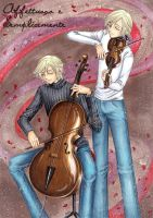 Collab: Flourit string duo by yasteen