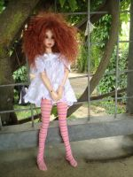 Sserein In Teddy Dress by beedoll