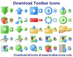 Download Toolbar Icons 2011.3 by fawkesbonfire