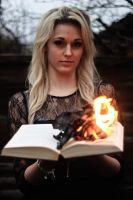 As I burn another page. by JadeGreenbrooke