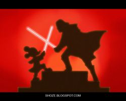 disney starwars by shoze