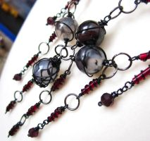Modern Goth Necklace by sancha310sp