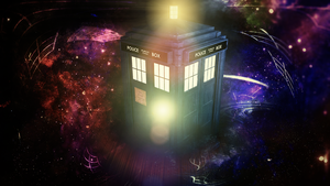 Tardis Wallpaper by kaki-tori