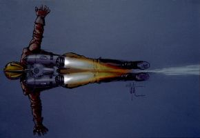 Rocket Pack Flame Concept by Eyth