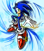 Sonic Wind by KTy-cat