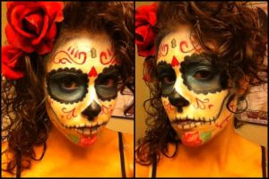 Sugarskull makeup by GinaBCosplay