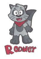 Rodney Raccoon by Cartcoon