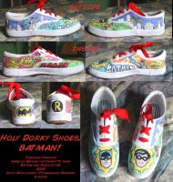 Campy Batman Shoes by Demyrie
