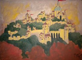 Cair Paravel by Shadow-inthe-Flame35