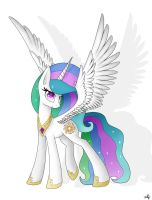 Princess Celestia by Shan3ng
