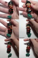 TF2 Soldier Charm by ChibiSilverWings
