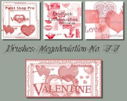 Valentine - Megadevpack2 by brushes
