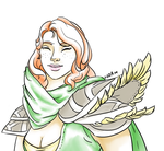 Lyralei the Windranger by halmtier