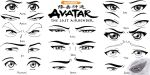 Eye Set - Avatar the Last Airbender by Sapphire56