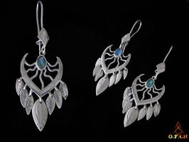 Indian earings by OFCH