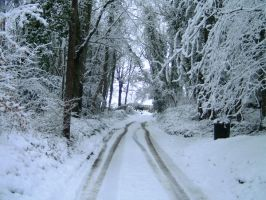 Thrupp lane, very snowy by kay115