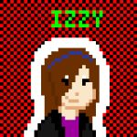 Pixellated Izzy by 533k3r-0f-gr4n7