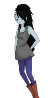 Marceline the Vampire Queen by GiraffeWizardry