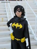 Cassandra Cain/Black Bat by surfingthevoiid