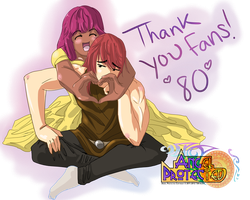 80 fan thank you by TaraHands