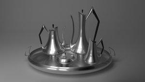 ART DECO TEA_COFFEE SERVICE by timzero4