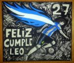 Lionel Messi Birthday No. 27 by Johnny-Aza