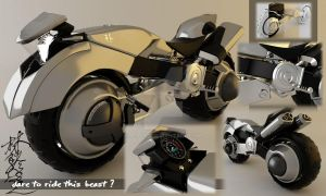 futuristic bike by bobitz
