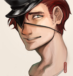 Eyepatch Guy by eromenos