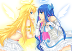 Panty and Stocking Angels by deliciosaBerry