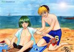 Come to the beach, Touya by Alkanet