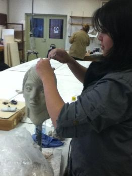 Me working on clay by SnickyRev