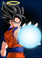 Goku Vector by cannabis97