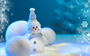Cute Snowman :) by 2dloverz