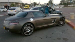 Mercedes-Benz SLS AMG 1 by daharid