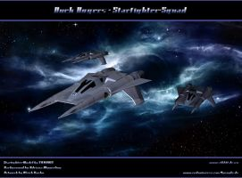 BUCK ROGERS - STARFIGHTER-SQUAD by ulimann644