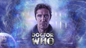 50th Anniversary Paul McGann Wallpaper Ver. 2 by theDoctorWHO2