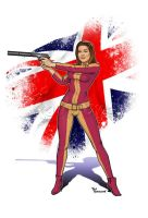 Emma Peel...Avenger! by ted1air