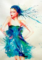 Fashion illustration 12 by DouceArtifice