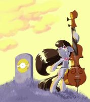 Sad Octavia by shadow-rhapsody