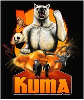 Kuma: Bear of Action by ChihuahuasInTheMist