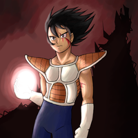 Youngish Vegeta by TemBrook