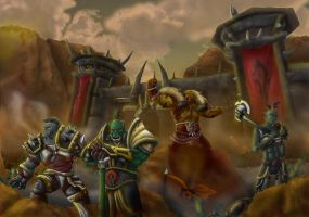 Siege of Orgrimmar by koborquez