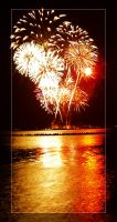 navy pier fireworks by ceah